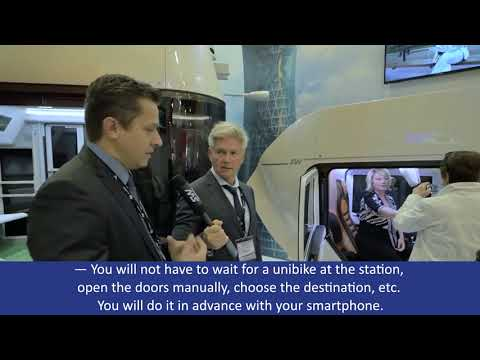 Interview with the Chief designer of the rolling stock Department Andrey Zaytsev