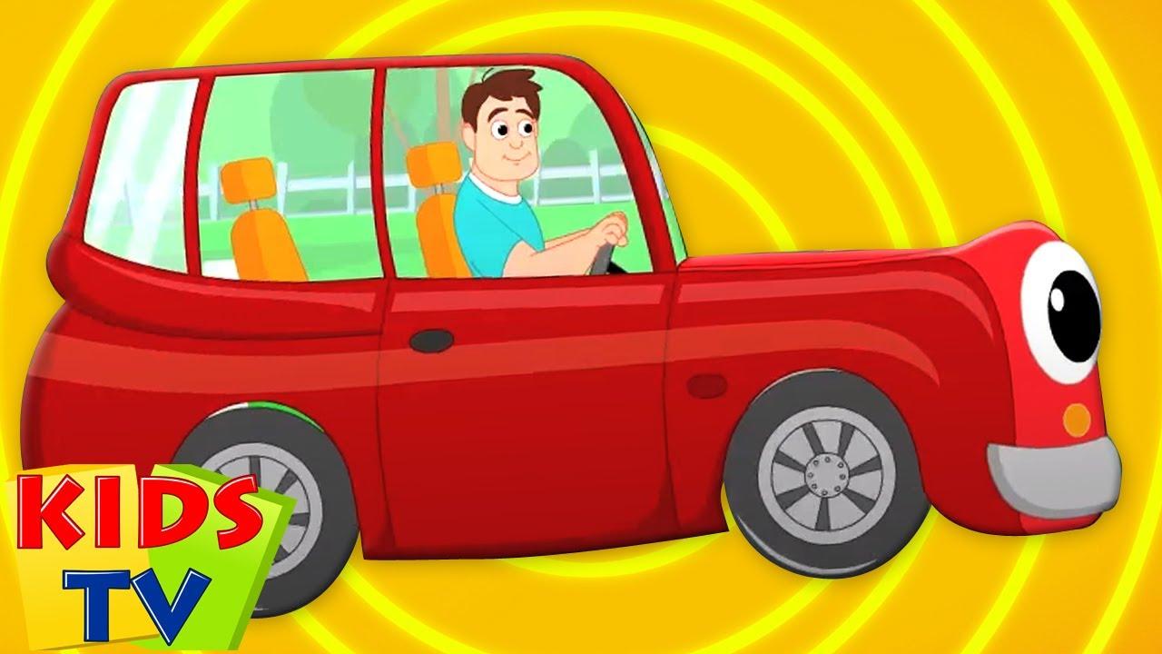 Xe màu đỏ của cha   Nhạc thiếu nhi   Vần điệu trẻ   Kids Tv Vietnam   Hoạt Hình