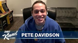 Pete Davidson on Living in His Mom's Basement & The King of Staten Island