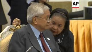 Plenary session and bilateral meetings at ASEAN summit