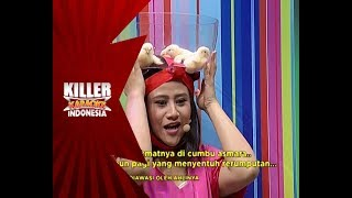 Waduh! Ada anak ayam diatas kepala Megi - Killer Karaoke Indonesia