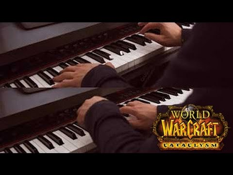 The Shattering- World Of Warcraft: Cataclysm  (2 Pianos)