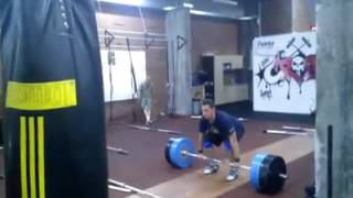 190 KG (418 lbs) Clean and Jerk by Norik Vardanian
