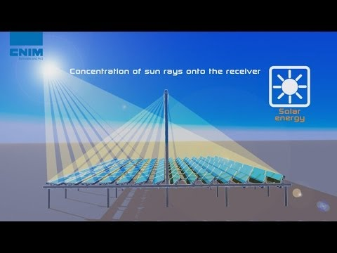 Compact Linear Fresnel Reflector technology by CNIM - Concentrating solar power plant