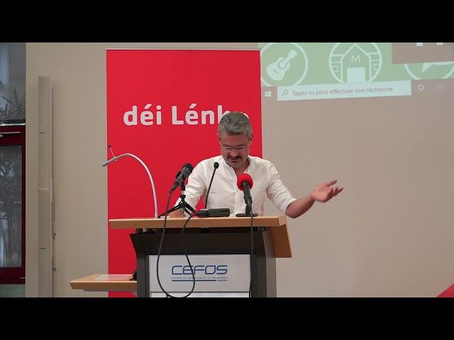 Prise de parole David Wagner (18e congrès ordinaire)