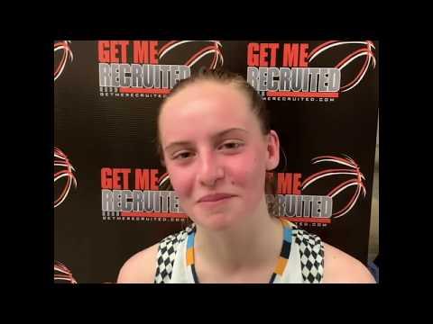 Gianna McManaman (Carolina Elite/Pollard Middle/Chapel Hill, NC) 2023 5'4 PG