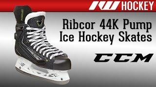 ccm ribcor 44k ice hockey skate review