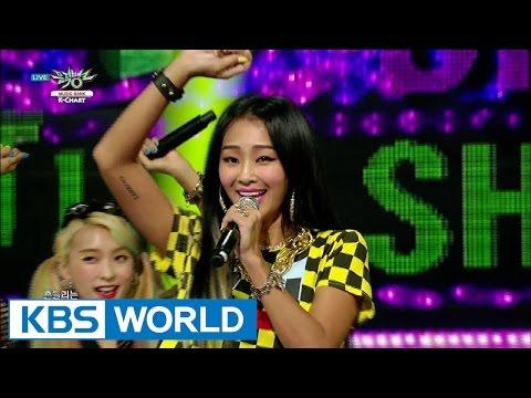 SISTAR (씨스타) - SHAKE IT  [Music Bank K-Chart #1 / 2015.07.10]