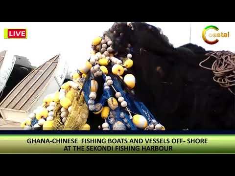 WATCH SEKONDI TAKORADI FISHING HABOUR-GHANA 2017
