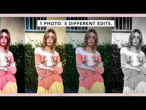 Editing 1 Photo in 5 Different Styles thumbnail