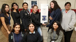 Meet the students who just made life easier for every girl in Dallas ISD