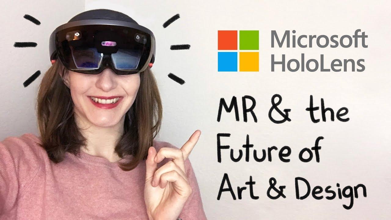 HoloLens Review + DEMO + The Future of Art & Design