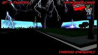 Das größte Wrack in der Geschichte von Tornado Simulator 2 EF-5 TWISTER ROBLOX