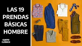 19 Prendas para construir tu guardarropa | Solo necesitas esto