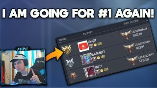 I want my #1 back on RANKED and this is how I'm going to do it... COD Mobile