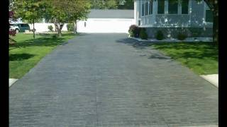 Illinois Concrete Stamped Stained Decorative Sidewalk Driveway Patio Pool Deck Stair Slab Il