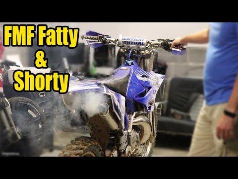 YZ250 Gets a FMF Fatty + Shorty & TTR125L Maintenance