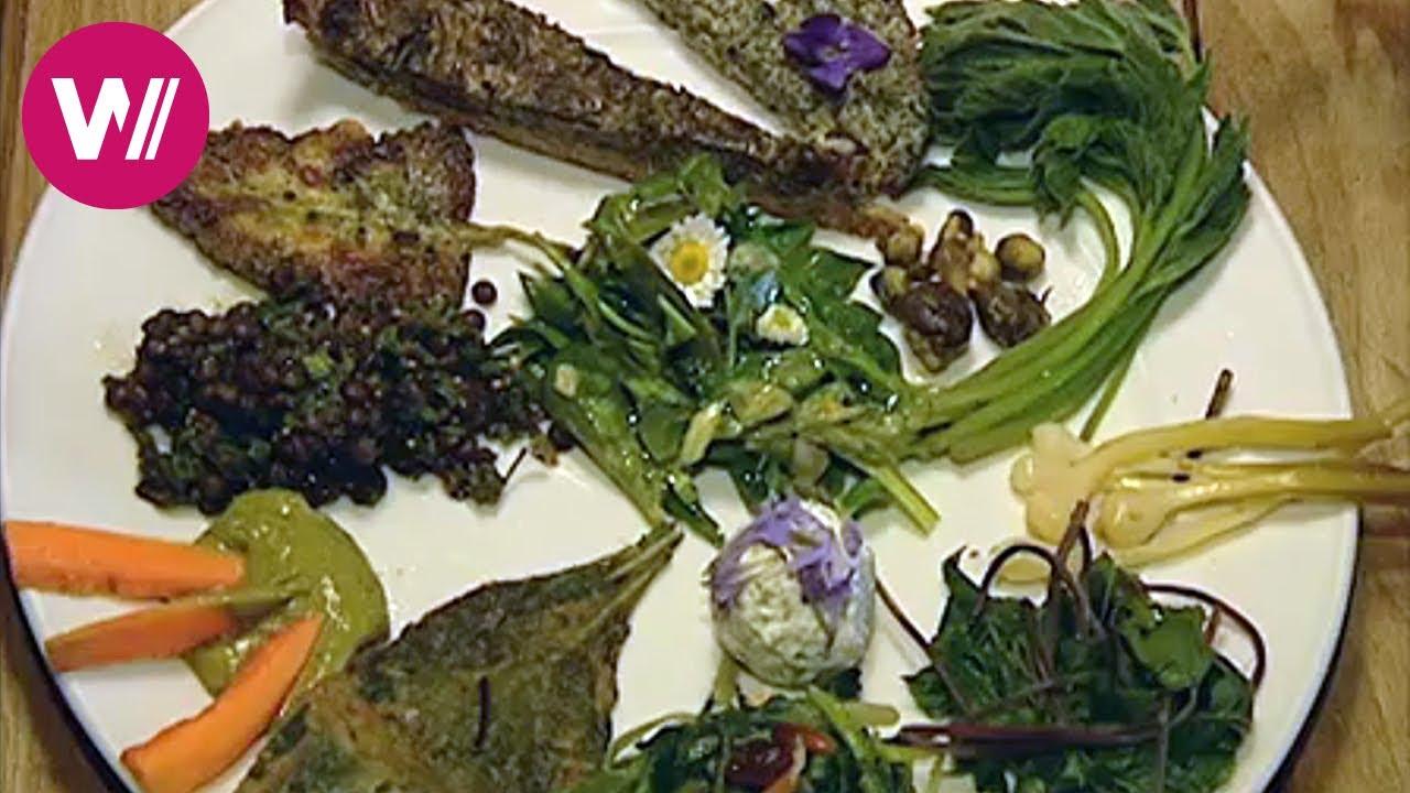 Kochen mit wilden Krutern  Meret Bissegger La Cucina Naturale  YouTube