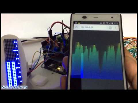 The Scroll Meter (Server-Sent Events sent to Android from Arduino) (Canvas element used)