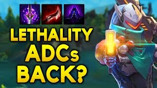 Lethality NOT TRASH ANYMORE? Arm Pen ADCs COMING BACK? (League of Legends)