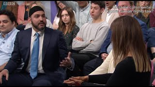 BBC1 Big Questions: Do Muslims/Christians ignore human rights? Should gambling be unacceptable?