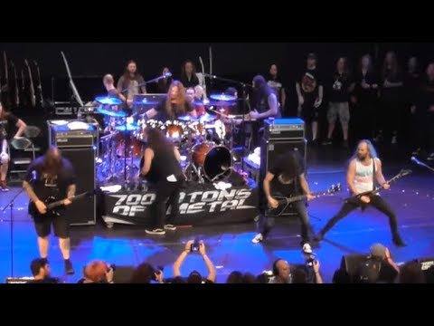 """All Star Jam at the """"2018"""" 70,000 Tons of Metal Cruise full show posted..!"""