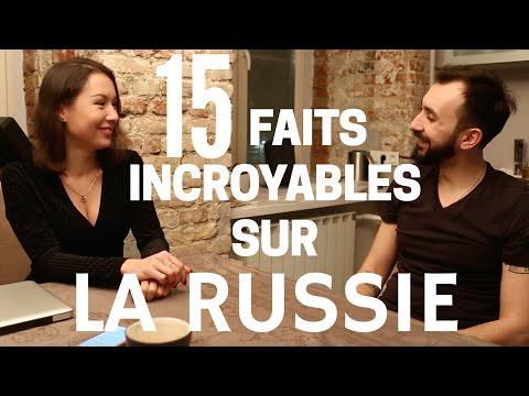 15 faits incroyables sur la Russie   /  Apprendre le russe