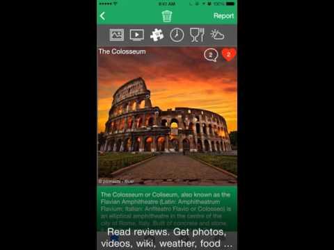 BonGEO Travel App Preview