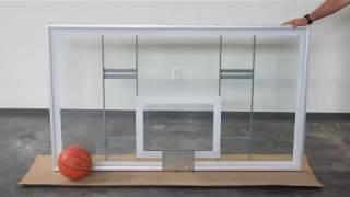 First Team FT239 Competition Glass Basketball Backboard