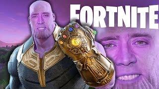 FORTNITE pero destruyo el universo