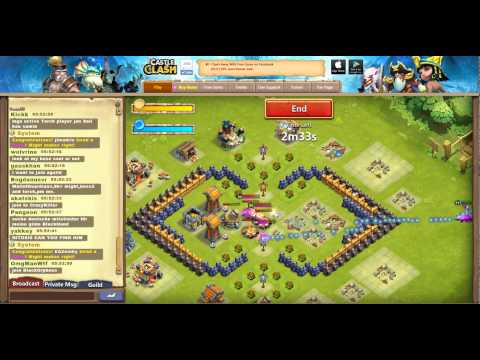 Castle Clash Facebook Version Hacked