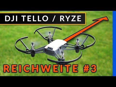 Dji Tello - Reichweite Test [deutsch]