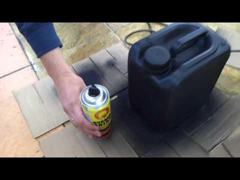 На что способен баллончик жидкой резины Rubber Paint?
