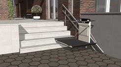 Plattformlift X3 für gerade Treppen - GARAVENTA Lift