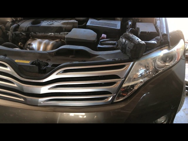 2011 toyota venza 2 7 transmission fluid and filter