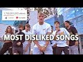 Top 100 Most Disliked Songs Of All Time On YouTube