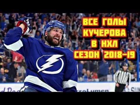 Все голы Никиты Кучерова в сезоне 2018 - 2019 НХЛ