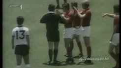 Fussball WM 1970 - Deutschland vs England (Viertelfinale)