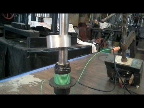 Jumping Ring Experiment Apparatus