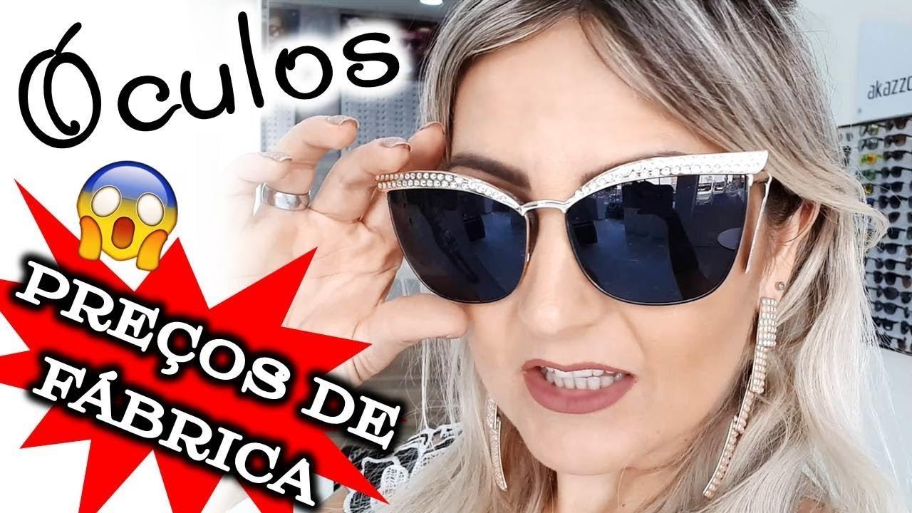b4f8418d8 PREÇOS DE FÁBRICA 😱 Inauguração Outlet dos Óculos 👓🕶 VEM ME VER EM  CAMPINAS 😎🤓