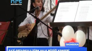 Gazi Ortaokulu Türk Halk Müziği Konseri
