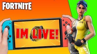 🔴 Best Fortnite Nintendo Switch Player // Solo Matches // New Port-A-Fortress + Tips!!