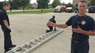 Ground Ladders Quick Drill