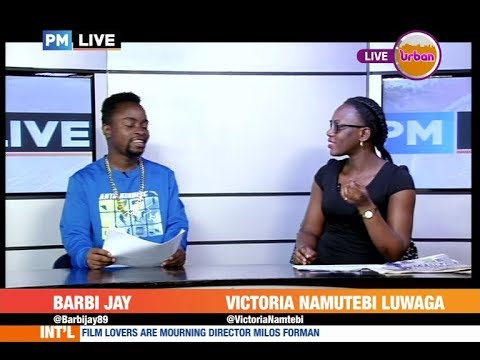#PMLive #CelebrityEdition: Barbie Jay Reads News on Urban TV [2/4]