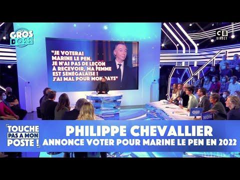 Download Philippe Chevallier annonce voter pour Marine Le Pen en 2022