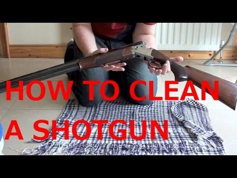 how to clean a shotgun video