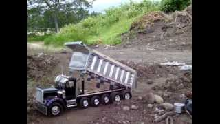 How to drive rc dump truck