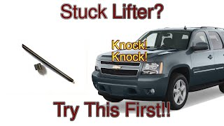 Lifter Release Trick Collapsed Lifter AFM DOD GM Chevrolet Lifter Noise