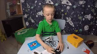 Телефон CAT B25 для ребенка в 1 класс ОБЗОР и ОТЗЫВ