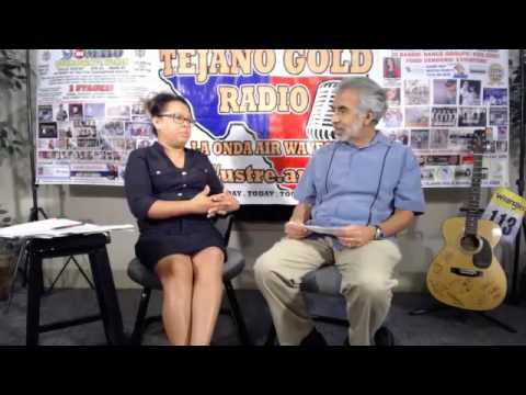 Tejanos Today Talk Show W/ Host Richard J. Gonzales, Special Guest Rosalinda Martinez